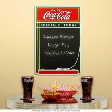 Retro Chalkboards For Kitchen by Coca Cola Specials Today Diner Chalkboard Coke Kitchen Decor