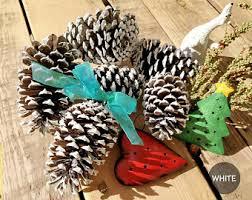 pine cone ornament etsy