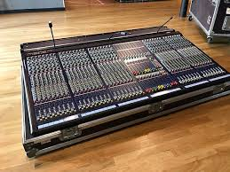 midas console midas siena 400 analog live mixer console 40 channels reverb