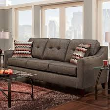 Curved Contemporary Sofa by Contemporary Sofa With Curved Track Arms By Washington Furniture
