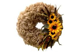 burlap deco mesh wreath a c