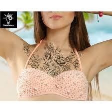 temporary sleeve for chest temporary peony