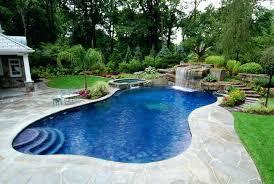 landscape ideas around swimming pool landscape lighting ideas