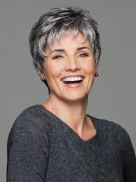 frosted gray hair pictures gray wigs all shades of grey wigs com the wig experts