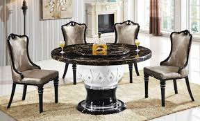 Granite Dining Room Tables by Dining Tables Stone Top Round Dining Table Dining Table Marble