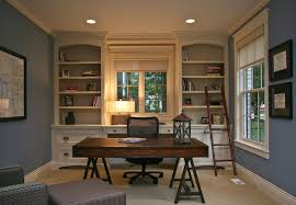 Country Home Office Furniture by Country Home Office With Crown Molding By Falcon Custom Homes