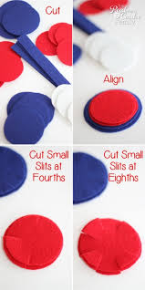 4th Of July Decoration Ideas 4th Of July Crafts Easy To Make Felt Napkin Rings