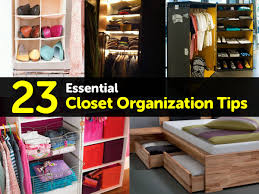 23 essential closet organization tips