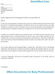 resignation letter format grateful professional manager