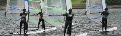 rya start windsurfing instructor plas menai