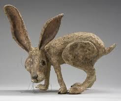 paper mache rabbit a paper mache rabbit paper mache