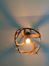 deer antler chandelier u2014 starry u0027s studio