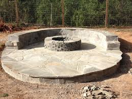 stone veneer fire pit patio 11 steps with pictures
