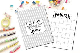 Modern Desk Calendar by The Cutest 2016 2017 Calendar To Insanity U0026 Back