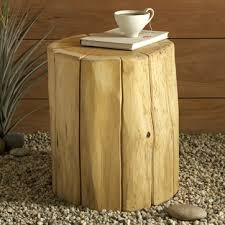 Wood Stump Coffee Table Swissmiss Natural Tree Stump Side Table