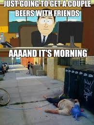 Morning After Meme - the morning after