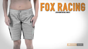 women s fox motocross gear fox racing lynx mountain bike shorts for women youtube