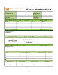 8d report template 8d problem solving process report template word flevypro document