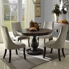 homelegance dandelion 5 piece pedestal dining room set beyond stores