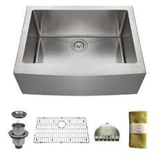 24 inch kitchen sink zuhne 24 inch farmhouse apron deep single bowl 16 gauge stainless