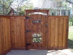 Gate For Backyard Fence Backyard Gate Crafts Home