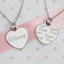Necklaces With Names Engraved 74 Best Grandmother Necklace With Names Images On Pinterest