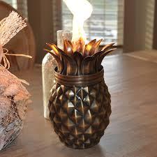Tiki Home Decor Starlite Garden U0026 Patio Torche 1505 Af Tiki Pineapple Antique