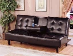 contemporary futon sofa bed verano futon sofa bed in espresso walmart com