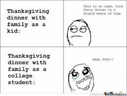 thanksgiving dinner image courtesy of ben meme center above