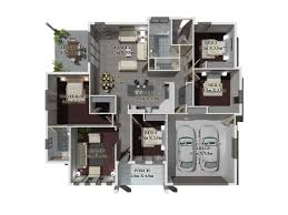 3d Office Floor Plan 3d Gallery Budde Design Brisbane Perth Melbourne Sydney