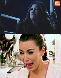 Crying Face Meme - aria s crying face prettylittleliars