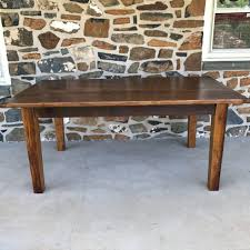 how to stain pine table white pine table with taper legs furniture from the barn