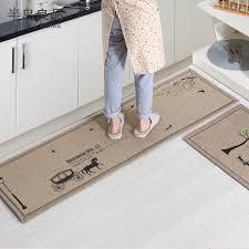 tapis de sol cuisine 50x80 cm 50x160 cm set anti slip cuisine tapis tapis de bain