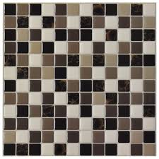 vinyl tile backsplash adhesive wall covering for kitchen bathroom