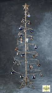 manificent design wire tree ornament holder trees spiral