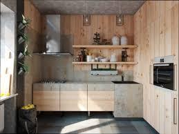 cuisine bois brut cuisine bois cuisine bois brut clair