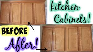 how to clean kitchen cabinets mamiposa26 youtube