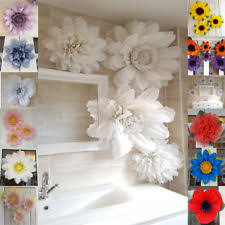 paper flower decorations ebay