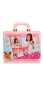 Disney Princess Keyboard Vanity Amazon Com Disney Princess Style Collection Travel Vanity Playset