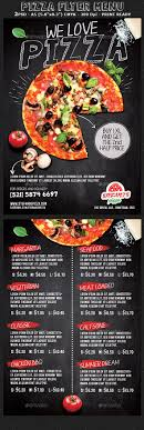 flyer menu template pizza flyer menu template by hotpin graphicriver