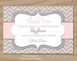thank you cards baby shower baby shower thank you card wording baby shower ideas