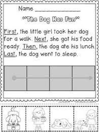 picture sequence worksheet 14 esl efl worksheets kindergarten