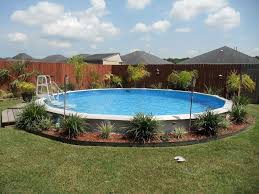Pool Landscape Design by How To Lay Out Above Ground Swimming Pool Decks Swimming Pool