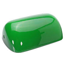 green glass shade bankers l green lshades and lightshades ebay