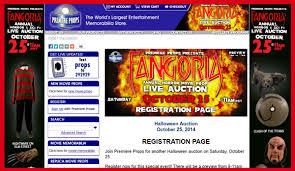 premiere props u0027fangoria horror movie prop live auction u0027 catalog