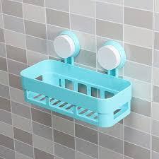Suction Shelf Bathroom Wall Basket Anizer Corner Shelf Basket Storage Por Shelf 2017