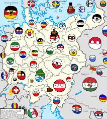 map of deutschland germany polandball map of greater germany by lehnaru on deviantart