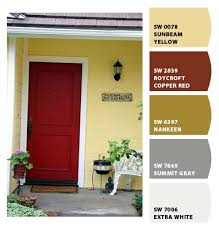 modern exterior paint colors for houses yellow houses house
