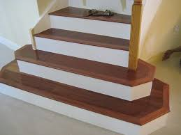laminate floor on concrete stairs