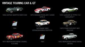 project cars 2 car list revealed sim racing paddock